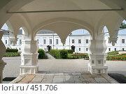 Купить «Варлаамо-Хутынский женский монастырь (около Великого Новгорода))», фото № 451706, снято 8 августа 2008 г. (c) Александр Секретарев / Фотобанк Лори