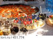 Купить «Фуршет», фото № 451774, снято 10 сентября 2008 г. (c) Игорь Осадчий / Фотобанк Лори