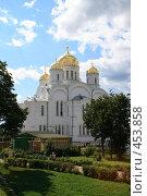 Купить «Вид на Свято-Троицкий Собор», фото № 453858, снято 26 июля 2008 г. (c) Дмитрий Лагно / Фотобанк Лори