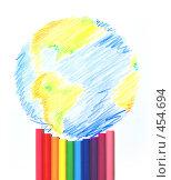 Купить «Разноцветная планета», фото № 454694, снято 20 августа 2018 г. (c) Владислав Грачев / Фотобанк Лори