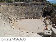 Античный театр, Демре, Турция (2008 год). Стоковое фото, фотограф A Большаков / Фотобанк Лори