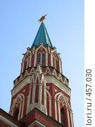 Купить «Никольская башня», фото № 457030, снято 7 сентября 2008 г. (c) Цветков Виталий / Фотобанк Лори