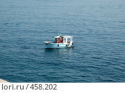 Купить «Рыбацкая лодка», фото № 458202, снято 1 июля 2008 г. (c) А. Клипак / Фотобанк Лори