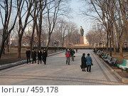 Купить «Парк Т.Шевченко (Киев)», фото № 459178, снято 24 января 2008 г. (c) Никончук Алексей / Фотобанк Лори