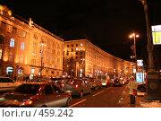 Купить «Ночной Киев (Крещатик)», фото № 459242, снято 27 января 2008 г. (c) Никончук Алексей / Фотобанк Лори