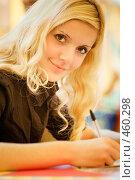 Купить «Студентка», фото № 460298, снято 14 сентября 2008 г. (c) BestPhotoStudio / Фотобанк Лори