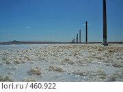 Купить «Соляной берег озера Баскунчак», фото № 460922, снято 14 августа 2008 г. (c) Александр Шутов / Фотобанк Лори