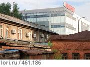 Купить «Контрасты Екатеринбурга», фото № 461186, снято 8 июля 2008 г. (c) Дмитрий Яковлев / Фотобанк Лори