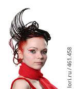 Купить «Креативная прическа», фото № 461458, снято 30 ноября 2007 г. (c) Efanov Aleksey / Фотобанк Лори