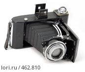 Купить «Старый среднеформатный фотоаппарат ZEISS IKON», фото № 462810, снято 16 сентября 2008 г. (c) Дмитрий Боев / Фотобанк Лори