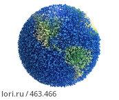 Купить «Планета, состоящая из частичек», иллюстрация № 463466 (c) Панюков Юрий / Фотобанк Лори