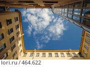 Купить «Санкт-Петербург. Двор-колодец», эксклюзивное фото № 464622, снято 11 июля 2008 г. (c) Ольга Визави / Фотобанк Лори