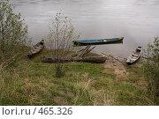 Деревянные лодки. Стоковое фото, фотограф Павел Спирин / Фотобанк Лори