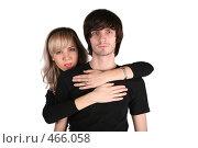 Купить «Портрет молодой пары», фото № 466058, снято 14 ноября 2019 г. (c) Losevsky Pavel / Фотобанк Лори