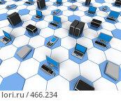 Купить «Компьютерная Сеть», иллюстрация № 466234 (c) Панюков Юрий / Фотобанк Лори