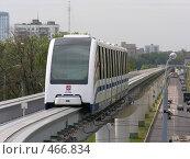 Купить «Монорельсовая железная дорога», фото № 466834, снято 27 августа 2005 г. (c) Losevsky Pavel / Фотобанк Лори