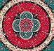 Ковер с цветочным орнаментом, иллюстрация № 466934 (c) Losevsky Pavel / Фотобанк Лори