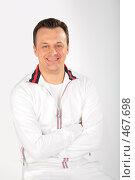 Купить «Портрет спортсмена», фото № 467698, снято 23 июля 2019 г. (c) Losevsky Pavel / Фотобанк Лори