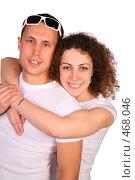 Купить «Молодая пара», фото № 468046, снято 14 ноября 2019 г. (c) Losevsky Pavel / Фотобанк Лори