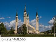 Купить «Соборная мечеть г.Нижнекамск», фото № 468566, снято 19 сентября 2008 г. (c) Кучкаев Марат / Фотобанк Лори