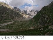 Купить «Долина в горах», фото № 468734, снято 28 июля 2008 г. (c) Антон Щербина / Фотобанк Лори