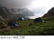 Купить «Стоянка в горах», фото № 468738, снято 31 июля 2008 г. (c) Антон Щербина / Фотобанк Лори