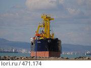 Купить «Выброшенное на мель судно», фото № 471174, снято 14 ноября 2007 г. (c) Игорь Архипов / Фотобанк Лори