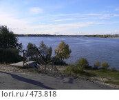 Купить «Река Лесной Воронеж», фото № 473818, снято 14 октября 2007 г. (c) Баева Татьяна Александровна / Фотобанк Лори