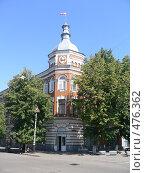 Купить «Здание администрации, г. Мичуринск», фото № 476362, снято 13 августа 2007 г. (c) Баева Татьяна Александровна / Фотобанк Лори