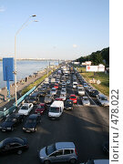 Купить «Автомобильная пробка», фото № 478022, снято 22 мая 2008 г. (c) Никончук Алексей / Фотобанк Лори