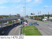 Ленинградский проспект, Москва, эксклюзивное фото № 479282, снято 21 августа 2008 г. (c) lana1501 / Фотобанк Лори
