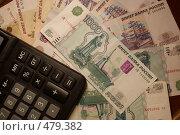 Купить «Рублевый счет», фото № 479382, снято 25 сентября 2008 г. (c) Анжелина Селинская / Фотобанк Лори
