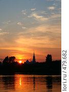Закат. Стоковое фото, фотограф Баскаков Андрей / Фотобанк Лори