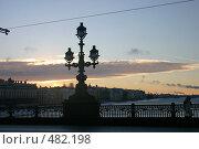 Купить «Троицкий мост. Санкт-Петербург», фото № 482198, снято 8 января 2006 г. (c) Александр Секретарев / Фотобанк Лори