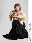Купить «Маленькая принцесса», фото № 482502, снято 25 сентября 2008 г. (c) Лисовская Наталья / Фотобанк Лори