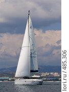 Купить «Яхта Аксиния», фото № 485306, снято 20 февраля 2020 г. (c) Игорь Архипов / Фотобанк Лори