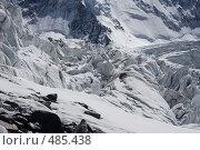 Ледопад (2008 год). Редакционное фото, фотограф Дмитрий Кожевников / Фотобанк Лори