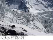 Купить «Ледопад», фото № 485438, снято 29 мая 2008 г. (c) Дмитрий Кожевников / Фотобанк Лори