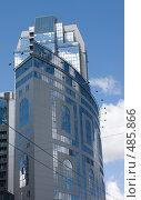 Купить «Современное здание», фото № 485866, снято 27 июля 2008 г. (c) Алексей Шипов / Фотобанк Лори