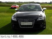 Купить «Автомобиль Audi TT coupe», фото № 486486, снято 28 сентября 2008 г. (c) Виктор Филиппович Погонцев / Фотобанк Лори