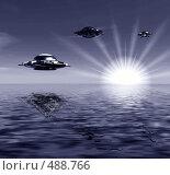 Купить «Инопланетяне», иллюстрация № 488766 (c) ElenArt / Фотобанк Лори