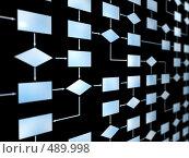 Программирование процесса. Стоковая иллюстрация, иллюстратор Панюков Юрий / Фотобанк Лори
