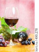 Купить «Винная композиция», фото № 490278, снято 22 сентября 2008 г. (c) Dzianis Miraniuk / Фотобанк Лори