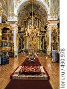 Купить «Никольский собор. Санкт-Петербург», фото № 490978, снято 21 июля 2008 г. (c) Александр Секретарев / Фотобанк Лори
