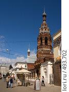 Купить «Ярославль. Колокольня Сретенской церкви», фото № 493702, снято 2 августа 2008 г. (c) Julia Nelson / Фотобанк Лори