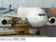 Купить «Мюнхенский аэропорт. Автоматизированная загрузка багажа в самолет.», фото № 493766, снято 27 сентября 2008 г. (c) Павел Гаврилов / Фотобанк Лори