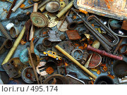 Купить «Лианозово, блошиный рынок», фото № 495174, снято 5 октября 2008 г. (c) Петр Бюнау / Фотобанк Лори