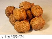Купить «Грецкие орехи», фото № 495474, снято 5 октября 2008 г. (c) Валерий Шилов / Фотобанк Лори