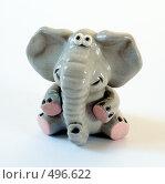 Игрушка сидящий слон, фото № 496622, снято 8 апреля 2006 г. (c) Александр Максимов / Фотобанк Лори