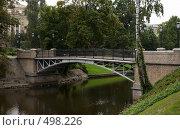 Купить «Мост в центральном парке в Риге. Латвия», фото № 498226, снято 15 сентября 2008 г. (c) Алексей Зарубин / Фотобанк Лори